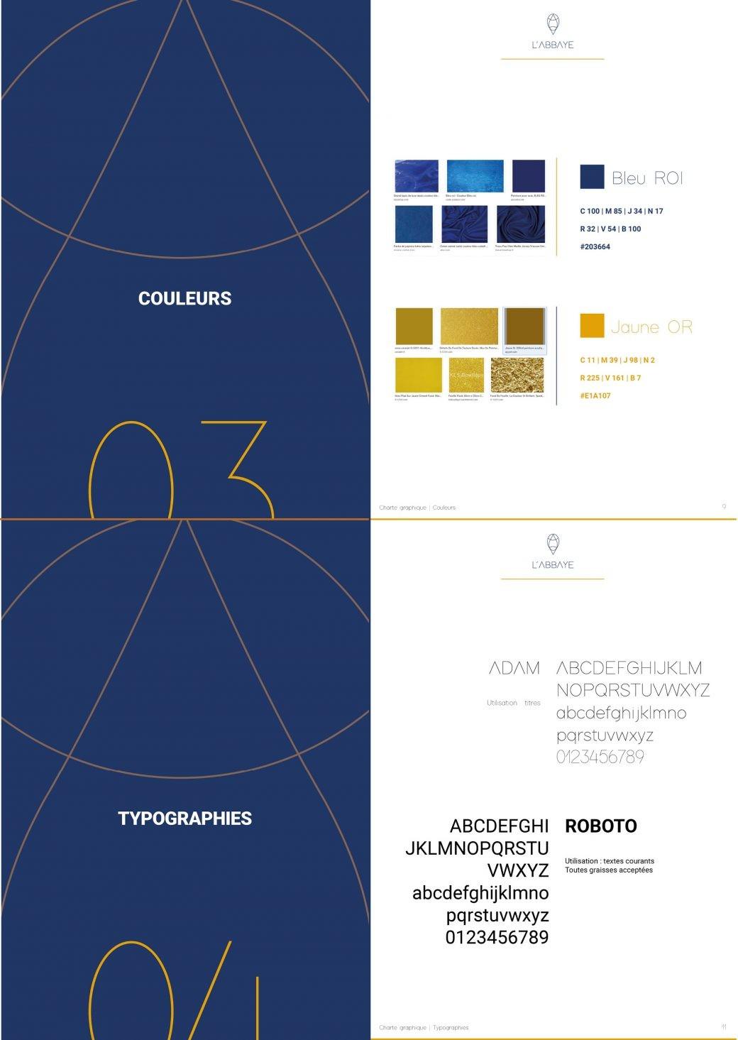 Formation / Charte Graphique / Diapo 3