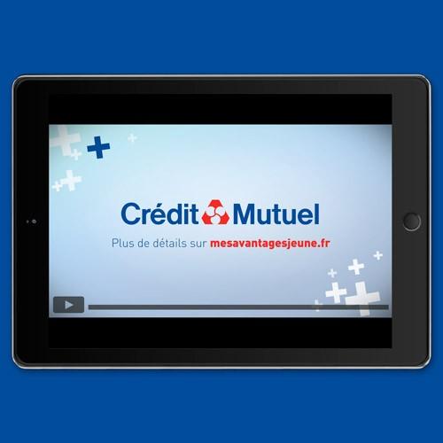 Crédit Mutuel – Offres jeunes