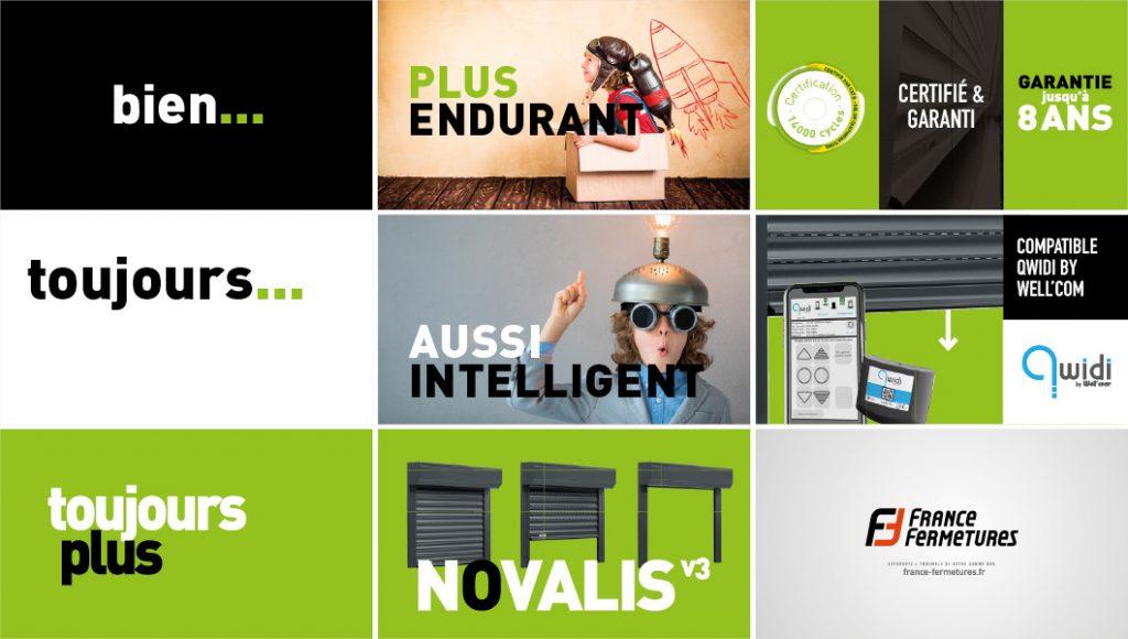 France Fermetures / Novalis V3 / Storyboard 3
