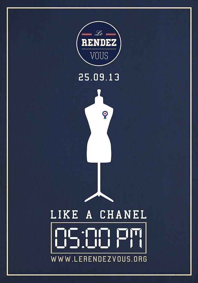 Le Rendez-Vous / Affiche / Like a Chanel