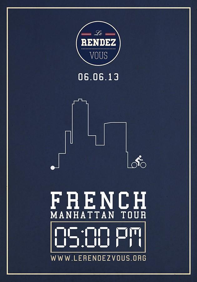 Le Rendez-Vous / Affiche / French Manhattan Tour