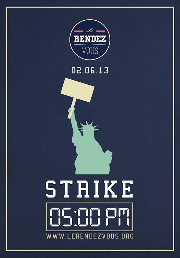Le Rendez-Vous / Affiche / Strike
