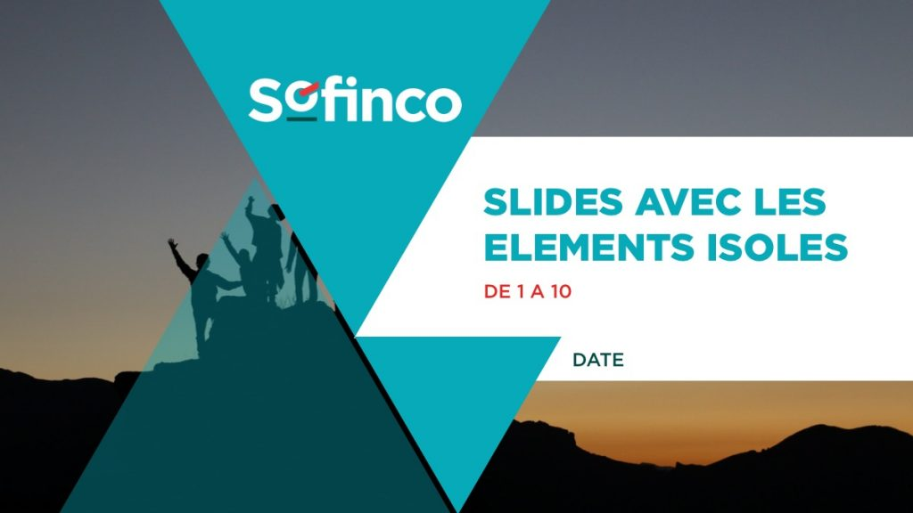 Sofinco / Powerpoint / Première page