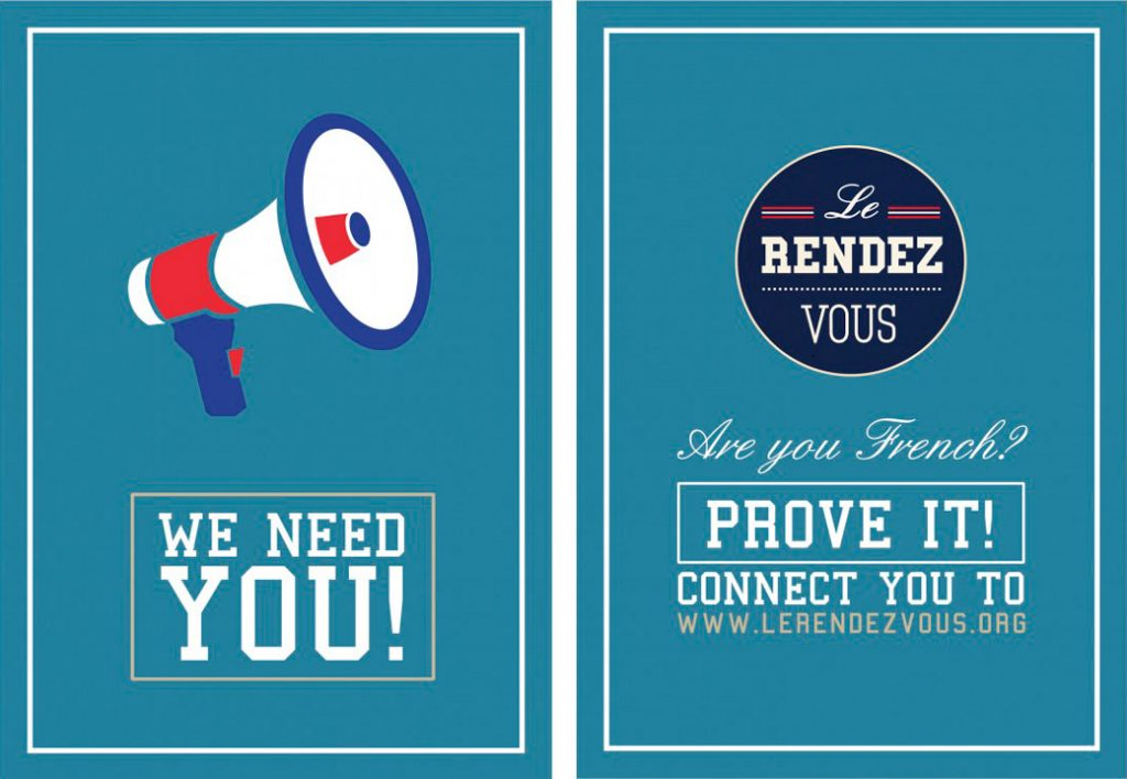 Le Rendez-Vous / Affiche / Call to Action