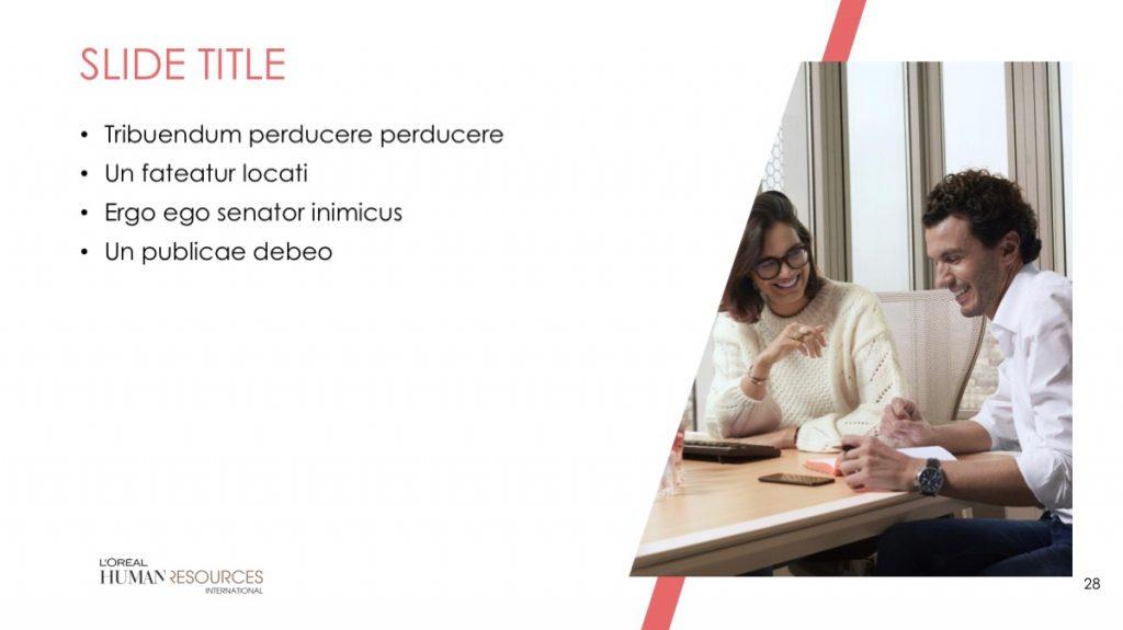 L'Oreal / Powerpoint / Diapo28