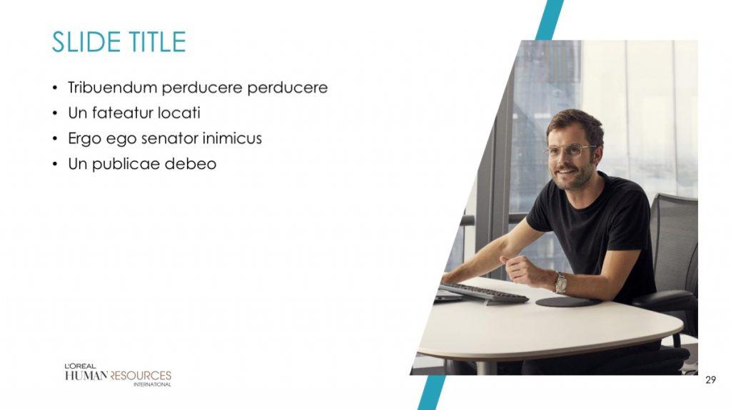 L'Oreal / Powerpoint / Diapo29